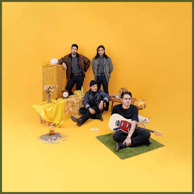 Our review of together PANGEA's 'Bulls and Roosters' finds a band more than the sum of its influences. The full-length comes out on July 28th via Nettwerk.