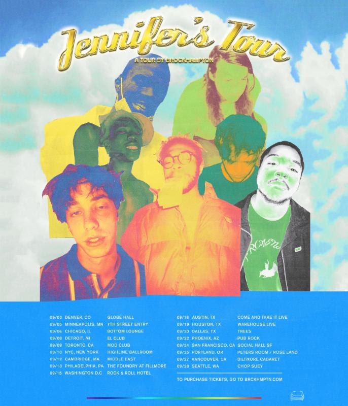 BROCKHAMPTON announces new North American tour dates.
