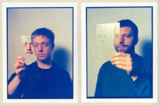 "Mount Kimbie releases track ""Blue Train Lines"", featuring King Krule."