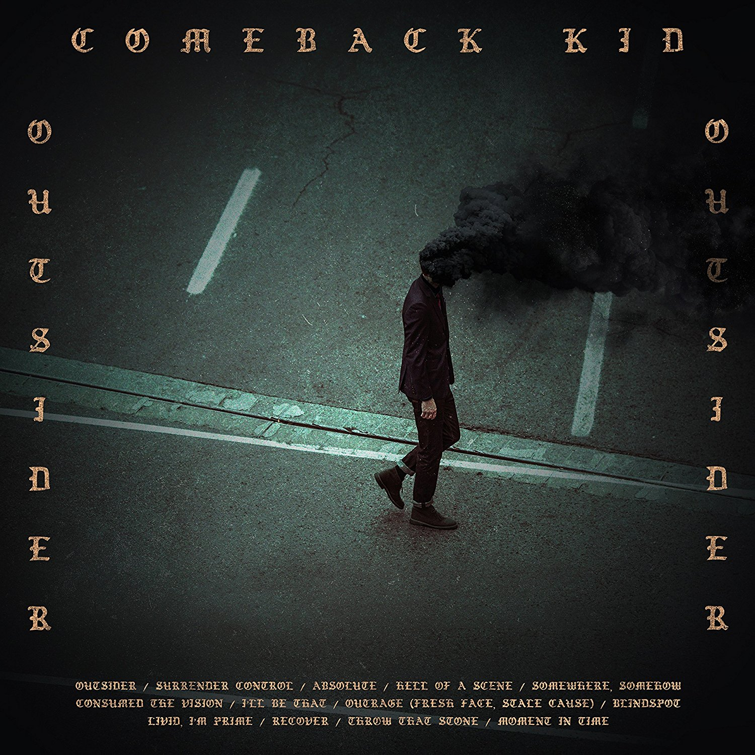 'Outsider' by Comeback kid, album review by Adam Williams
