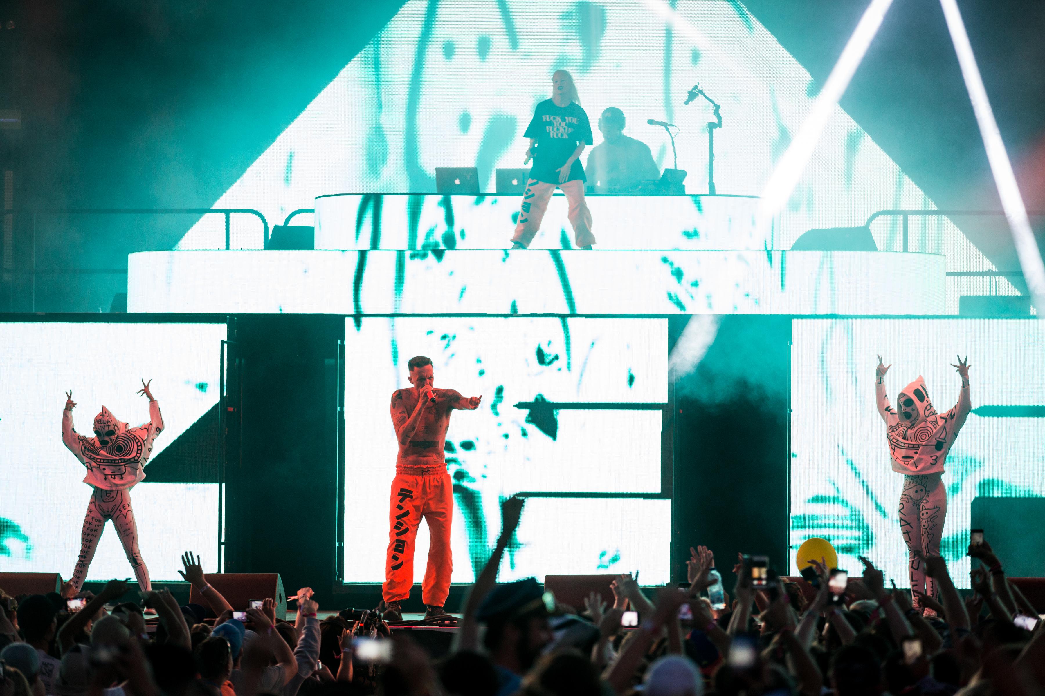 Die Antwoord by Tim Snow / Evenko @ Vans Valley Stage