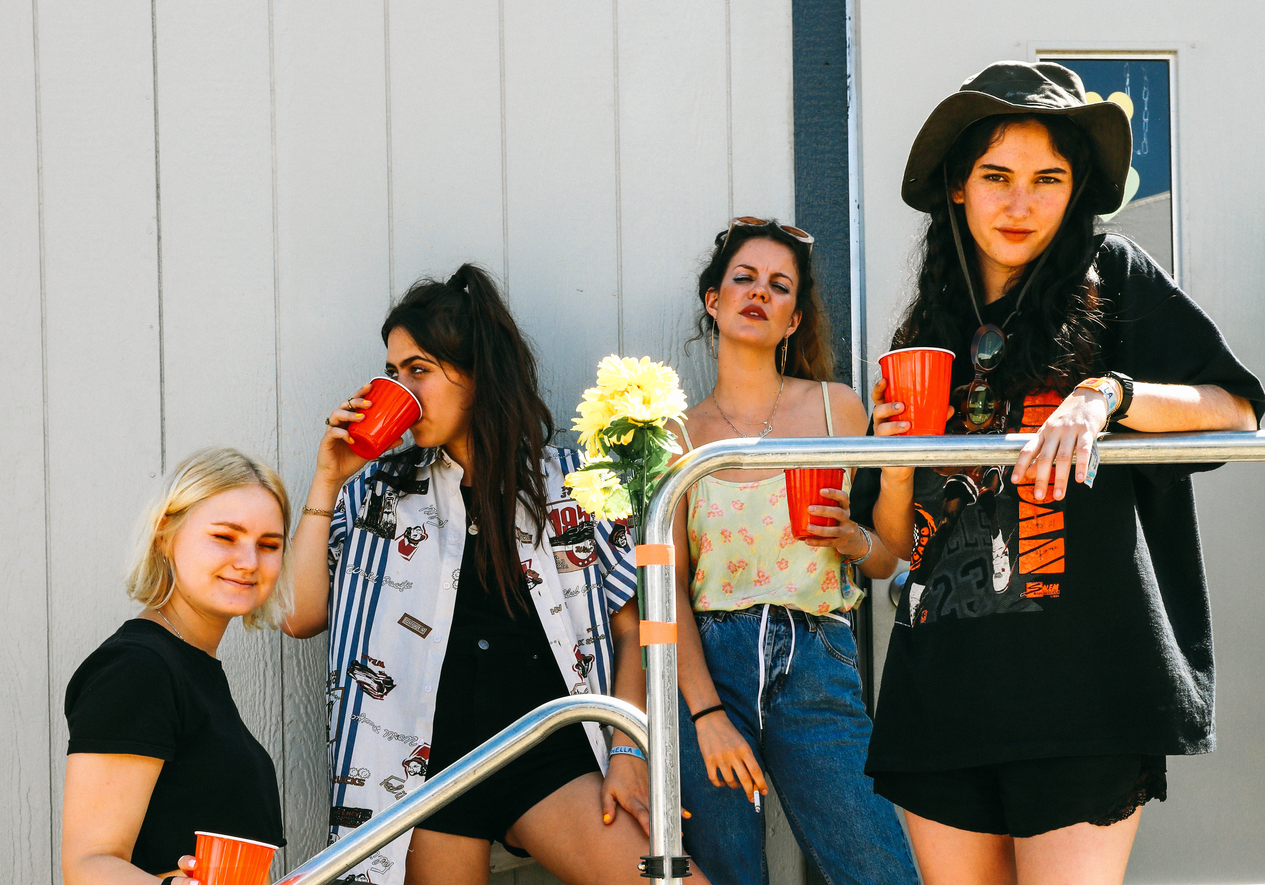 "Hinds release new cover of Roy Ayer's ""Caribbean Moon""."