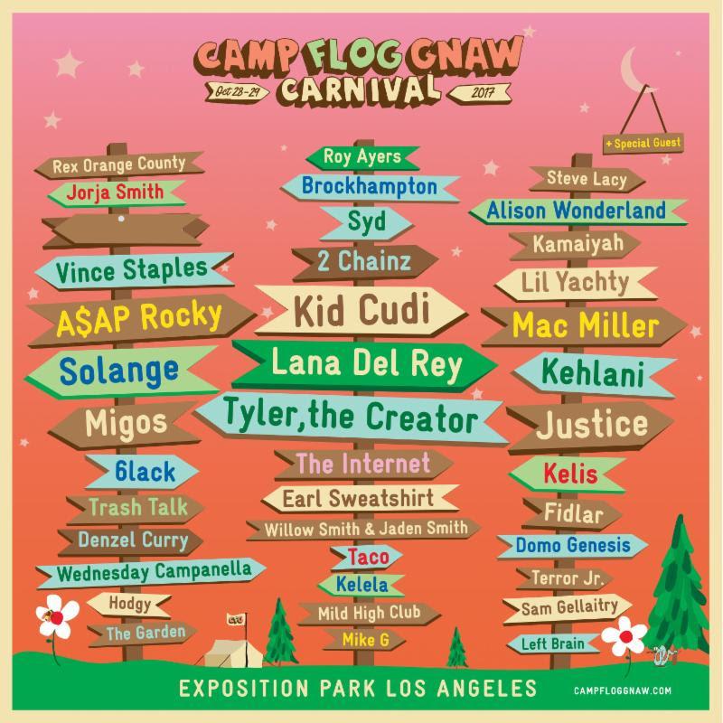 Camp Flog Gnaw Carnival announces 2017 lineup