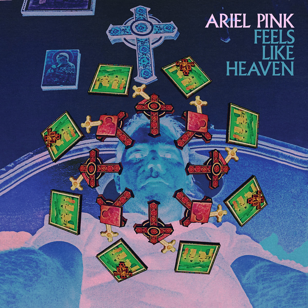 "Ariel Pink releases new single ""Feels Like Heaven""."