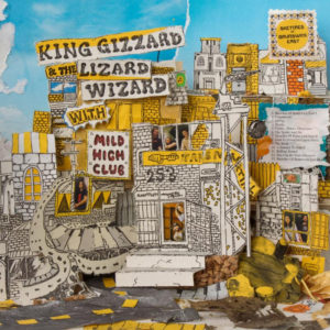 King Gizzard and the Lizard Wizard have released Sketches Of Brunswick East today, their third album of 2017, the LP is a collaboration with Mild High Club.