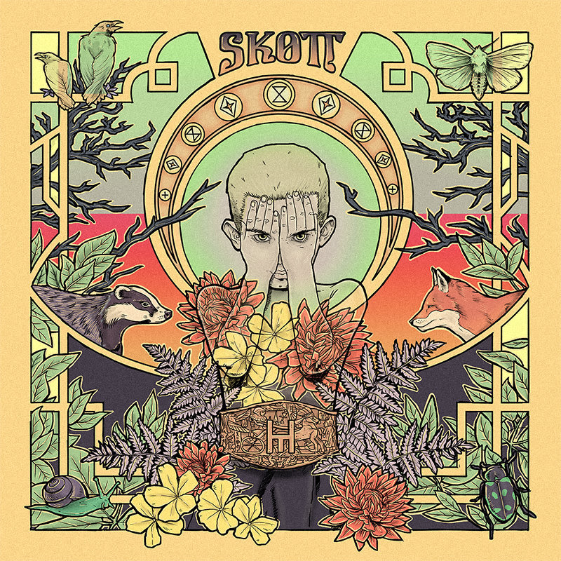 """Skott shared a brand new track titled """"Remain,"""""""