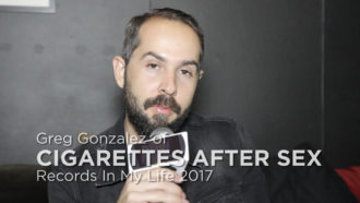 Cigarettes after Sex guest on 'Records In My Life'