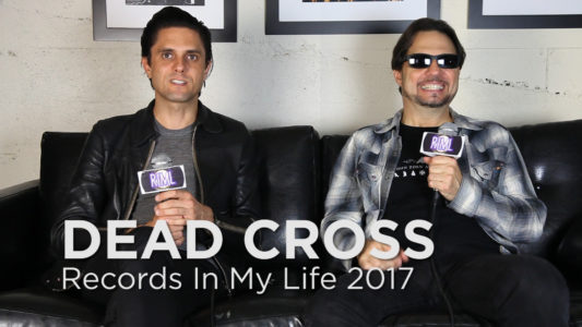 Dead Cross guest on 'Records In My Life'.