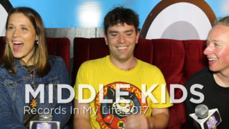 Middle Kids guest on 'Records In My Life'.