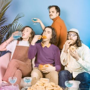 Our interview with Peach Pit: We talked to Peach Pit about weird outfits