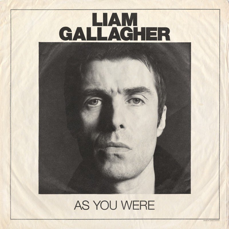 Review of 'As You Were' by Liam Gallagher: