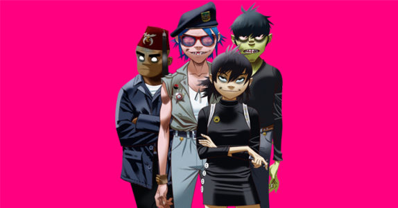 """Gorillaz surprise us with the new track """"Garage Palace"""""""