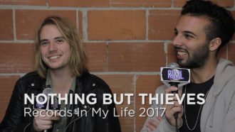 Nothing But Thieves on 'Records In My Life'