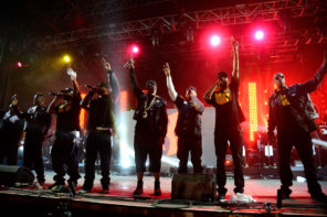 Wu-Tang Clan Interview Photo by Frazer Harrison