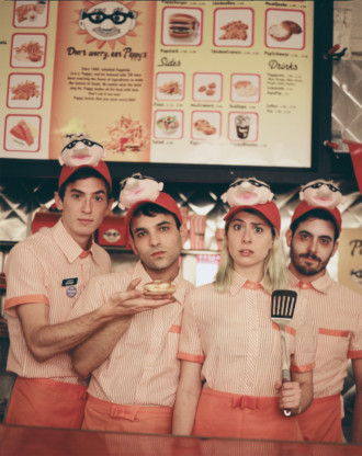"Charly Bliss debut video for ""Scare U""."