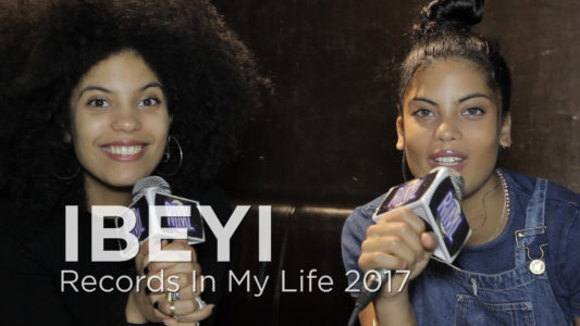 IBEYI Guest on 'Records In My Life', the duo talked about great LPs that have inspired them, as well the influence their father's music, has had on them.