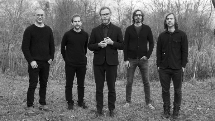 "The National release new video for ""Dark Side Of The Gym"""