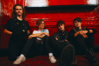 "Hippo Campus release new video for ""Buttercup"", kick off North American tour."