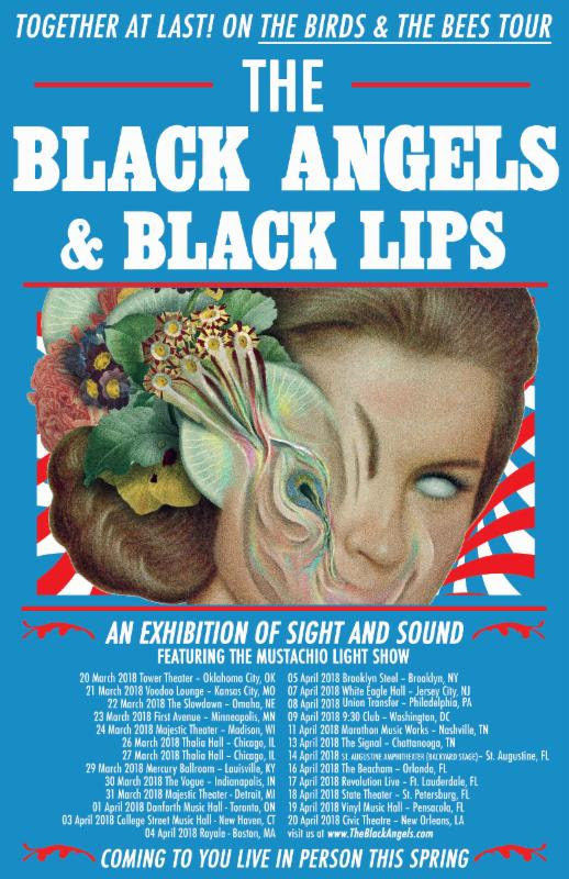 The Black Angels and Black Lips announce tour