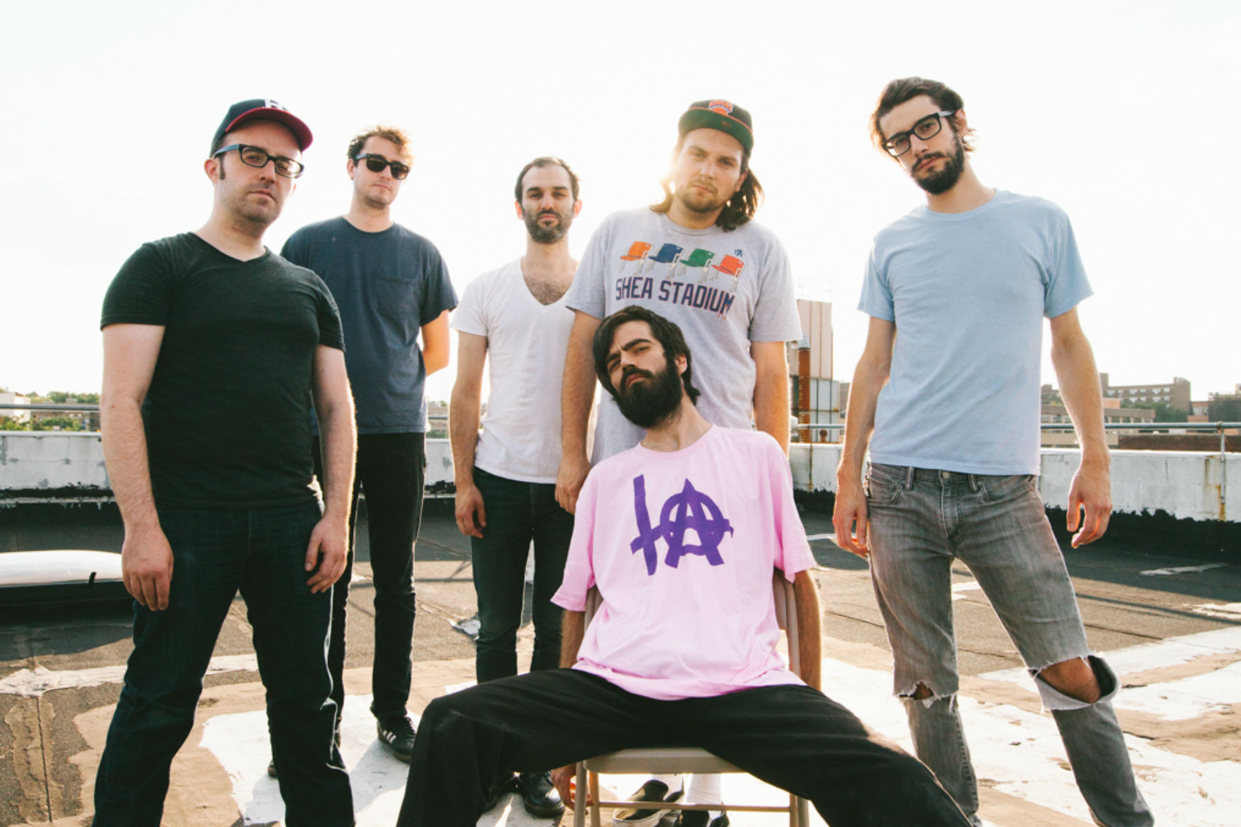"Titus Andronicus has released the new single ""Above the Bodega (Local Business)."" The track is off the band's forthcoming release [A Productive Cough]."