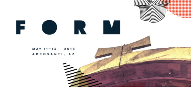 FORM Arcosanti 2018 announces initial lineup