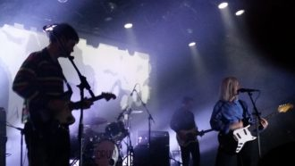 Alvvays and Frankie Rose live at the Commodore Ballroom