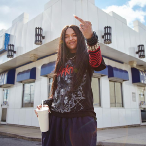 'A Girl Cried Red' by Princess Nokia