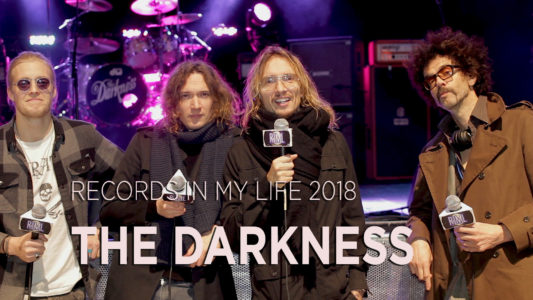 The Darkness guest on 'Records In My Life'