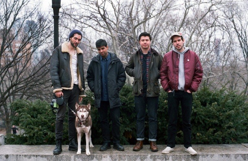"Big Ups releases new single ""Imaginary Dog Walker"""