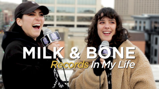 Milk & Bone guest on 'Records In My Life' at Treefort
