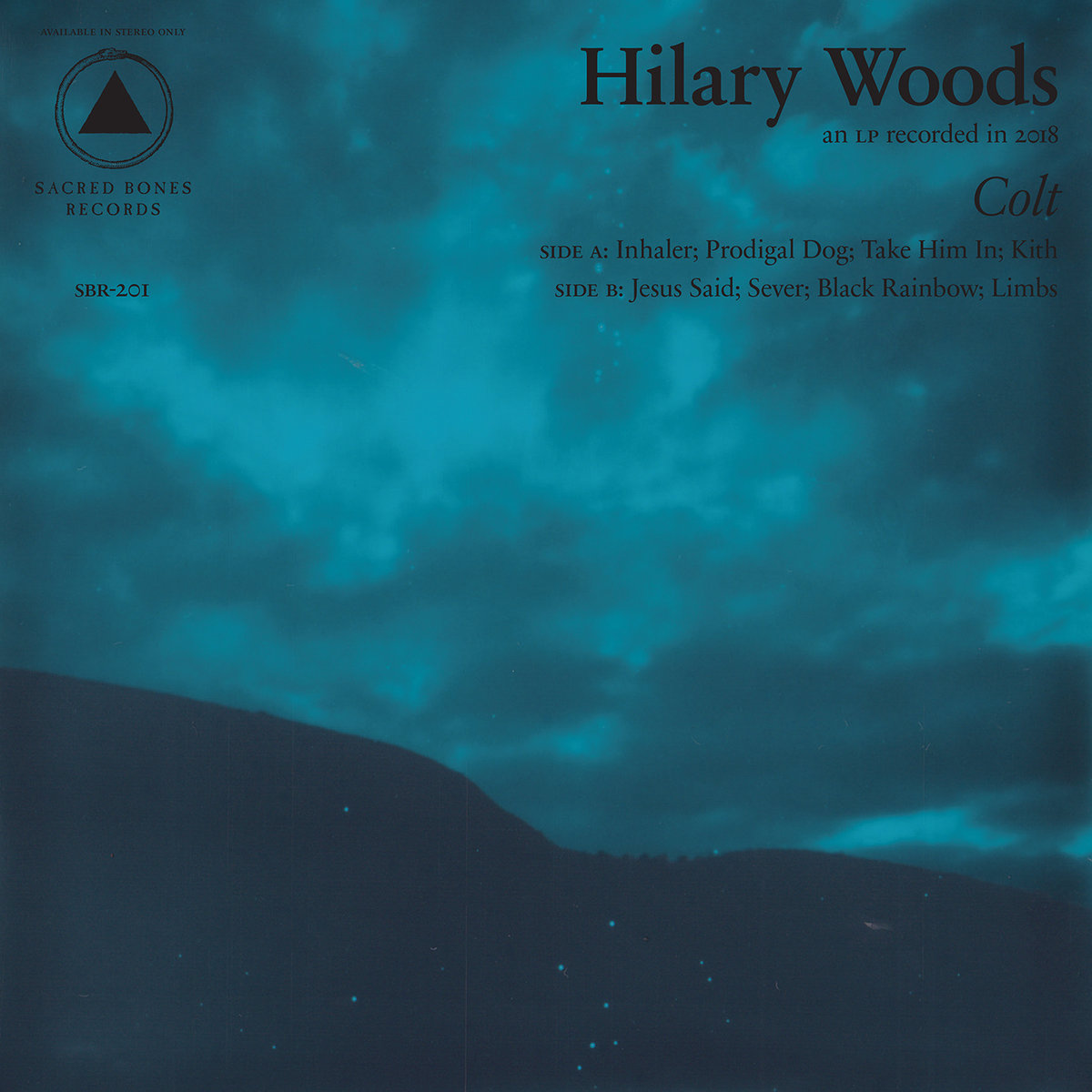 'Colt' by Hilary Woods album review by Andy Resto for Northern Transmissions