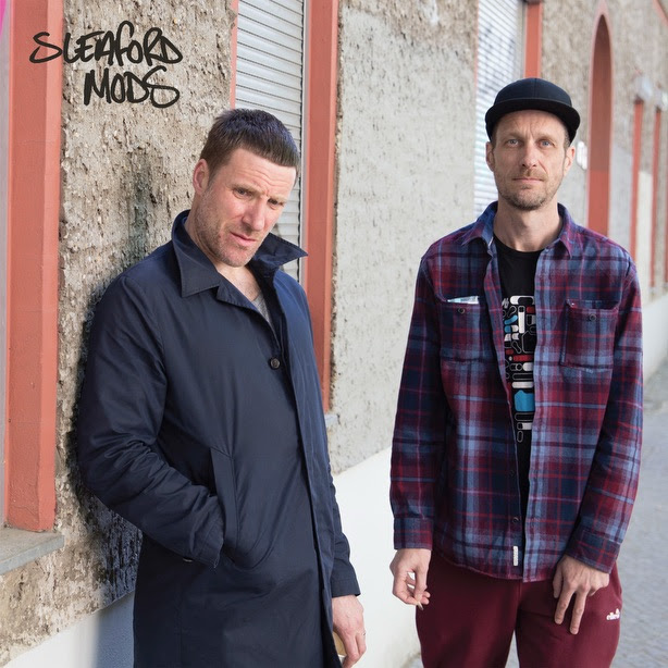 Sleaford Mods announce new self-titled EP.