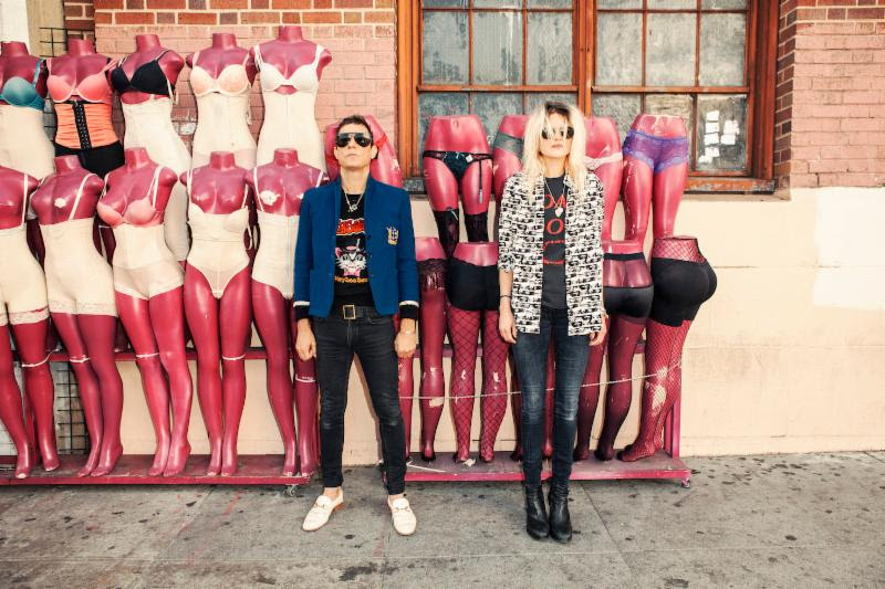 """The Kills debut """"Steppin' Razor"""" Equiknoxx Music Remix and """"List of Demands"""" 7"""". Both tracks are available via Domino Records."""