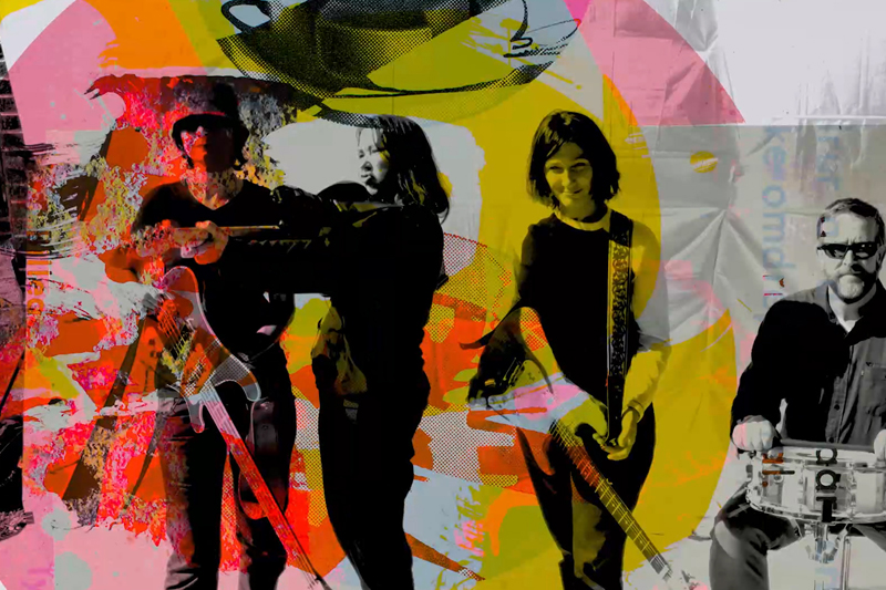 "The Breeders have shared their new Richard Ayoade directed video for ""Superwoman,"