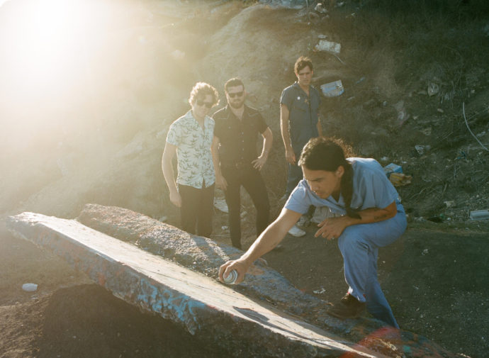 "FIDLAR has released a new video for their current single ""Too Soon"""