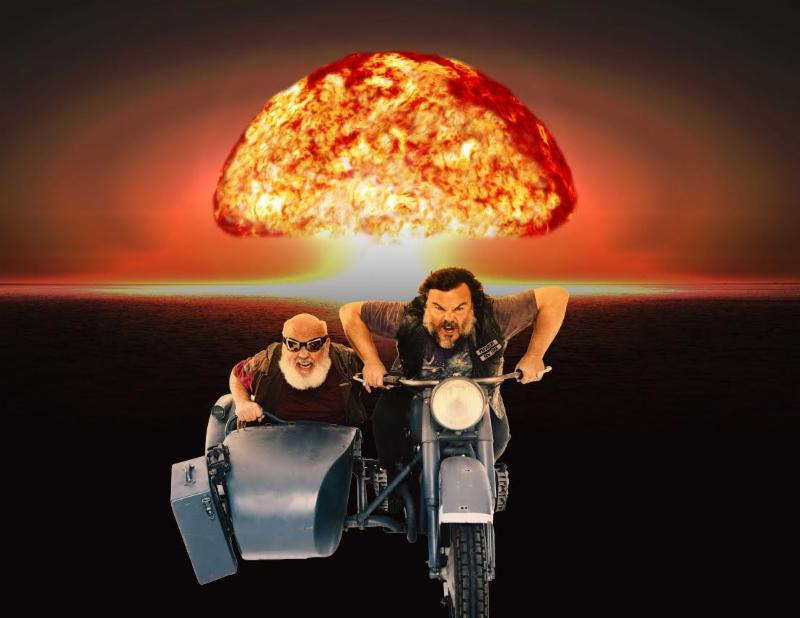 Tenacious D announce new video series and album 'Post-Apocalypto'.