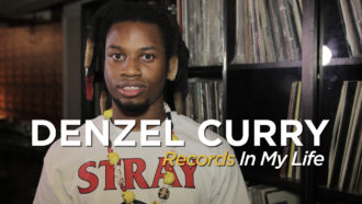 Denzel Curry guests on 'Records In My Life'