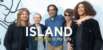 Island guest on 'Records In My Life'. The UK quartet shared some of their favourite albums, including titles by Pink Floyd, The Stroke