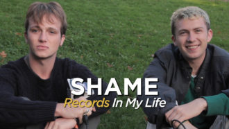 We met with Charlie Steen and Sean Coyle-Smith for 'Records In My Life' the guys from UK band Shame, talked about favourite by The Fall and many more