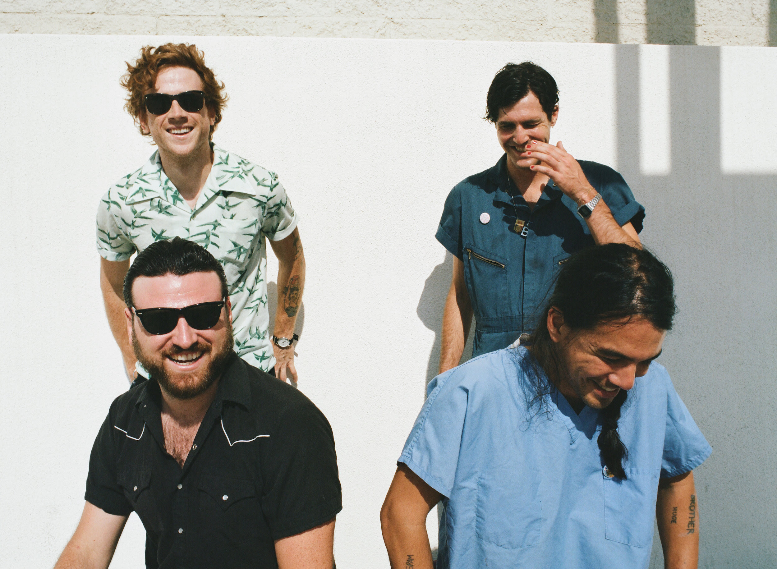 FIDLAR have announced that their new album, 'Almost Free'