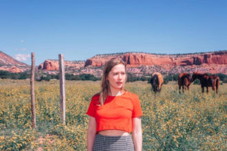 """Julia Jacklin has released a new video for """"Head Alone,"""" off her forthcoming release for Polyvinyl Records 'Crushing.' She plays December 30 in Woodford, AU"""
