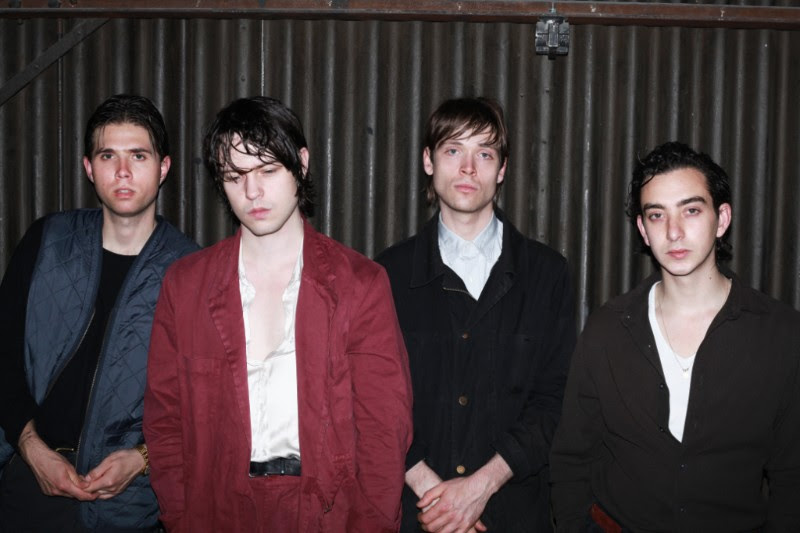 "Danish band Iceage, have released the latest single off their current release 'Beyondless', ""Beyondless,"" the song is now available via matador Records"