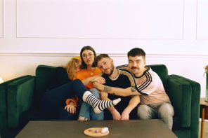 """UK quartet Orchards have shared their new single """"Age Of You."""" The track is off the band's current EP 'Losers / Lovers,' out now via Big Scary Monsters"""