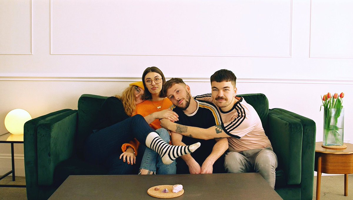 "UK quartet Orchards have shared their new single ""Age Of You."" The track is off the band's current EP 'Losers / Lovers,' out now via Big Scary Monsters"