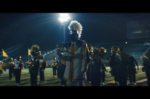 Justice have collaborated with the 220-piece Spartan Legion marching band