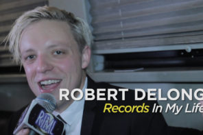 We joined Robert DeLong from the comforts of his tour bus, prior to his show at the Biltmore Cabaret in Vancouver, BC, to talk about his favourite LPs