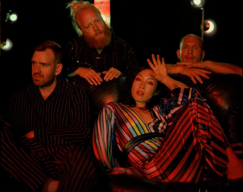 """Little Dragon get remixed by Jayda G. The Swedish group's latest single """"Lover Chanting"""" has been reworked into a slice of groovy-house."""