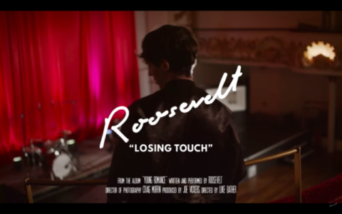 """Roosevelt shares shares new video for """"Losing Touch."""" The track is off the artists current City slang/ Chris Coady produced album 'Young Romance.'"""