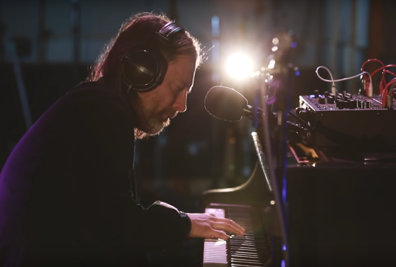 Thom Yorke has shared four separate track videos from his live session at Electric Lady Studios in NYC, recorded in November last year