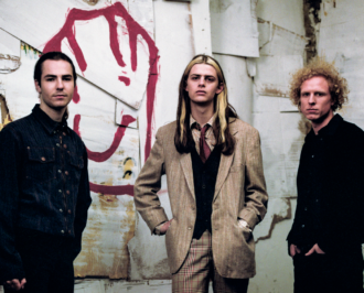 "UK trio Blaenavon recently released ""Catatonic Skinbag,"" the first song off their LP 'Everything That Makes You Happy,' out this year via Canvasback"